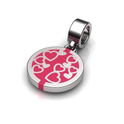 Kiroco NFC Heart Disc Charm Bracelets