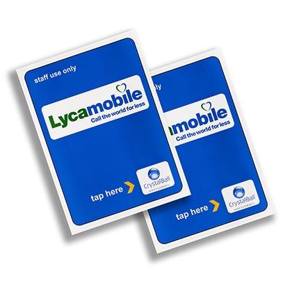Permanent NFC Labels