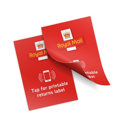 Repositionable NFC Labels