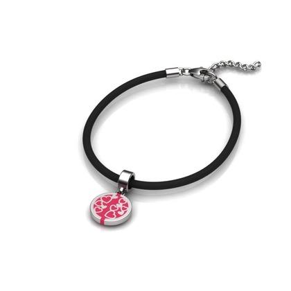 NFC Charm Rubber Bracelets