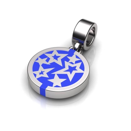 Kiroco NFC Star Disc Charm Bracelets