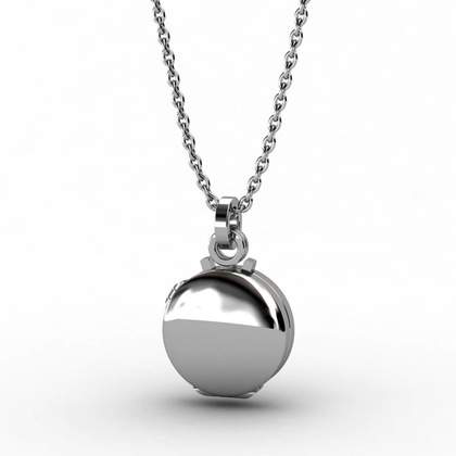 Kiroco NFC Fluted Orbital & Locket Necklaces