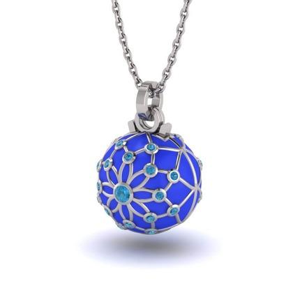 Kiroco NFC Crystal Orbit & Rose Gold Orbit Necklaces